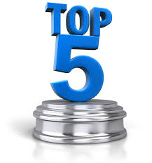 Top 5 businesses in 2015