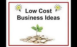 Low cost business ideas uk
